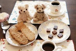 チョコとクッキー